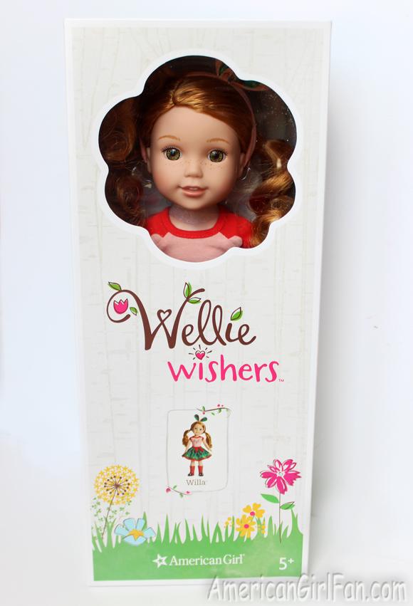 American Girl Wellie Wishers Willa