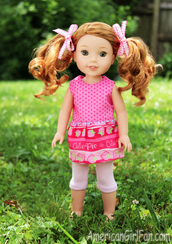 American Girl Wellie Wishers Doll Willa
