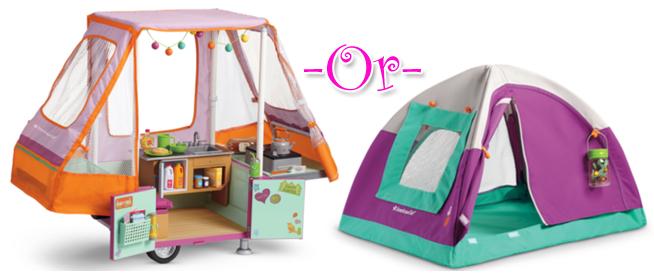 Camper or Tent