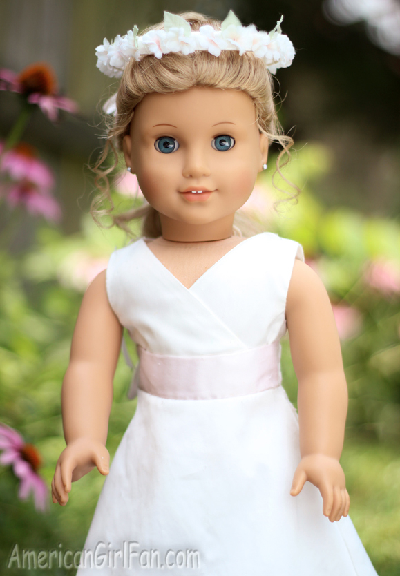 American Girl Doll Hairstyle Bubble Ponytail