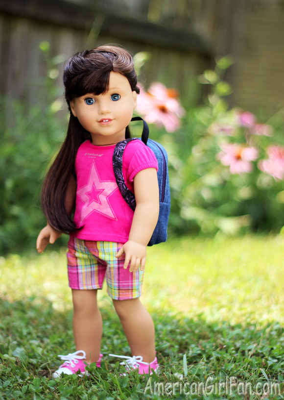 Doll Hairstyle HalfUp French Braid AmericanGirlFan - Doll hairstyles for grace