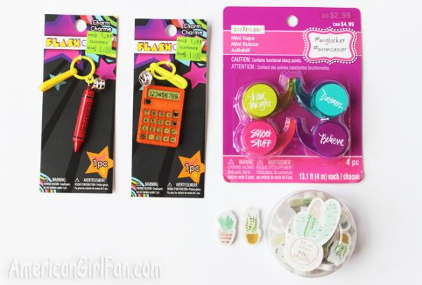 Fun Find Doll School Supplies Americangirlfan-3300