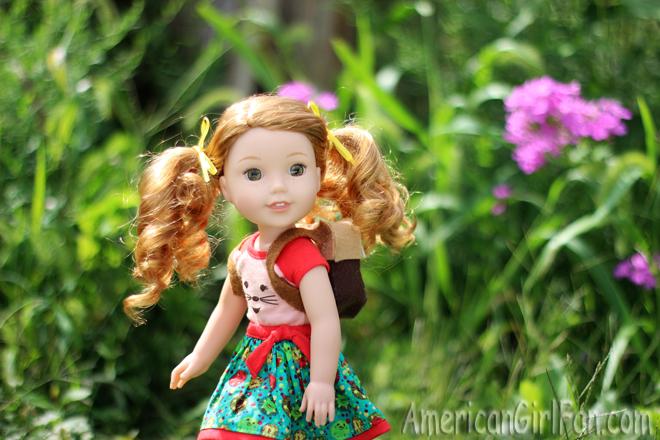 American Girl Wellie Wishers Doll Craft
