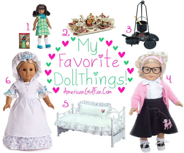 American Girl Fan Favorite Doll Things Week 62