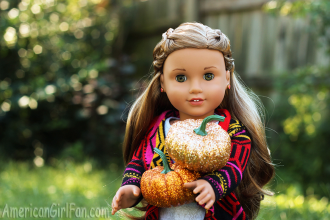 American Girl Doll Hairstyle Criss-Cross Braid Pigtails