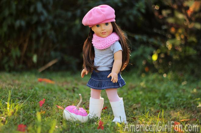 American Girl Doll Craft Donut Pumpkin