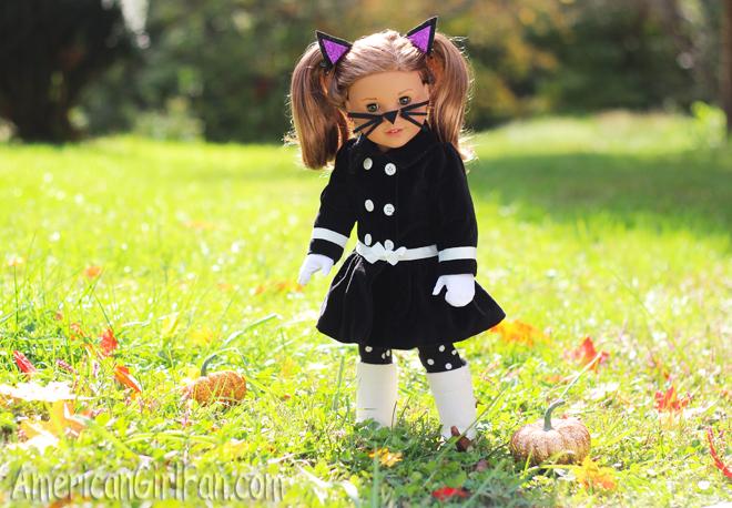 American Girl Doll Craft Cat Ear Hair Clips