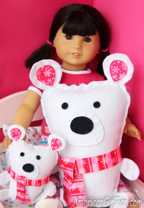 American Girl Doll Crafts border=