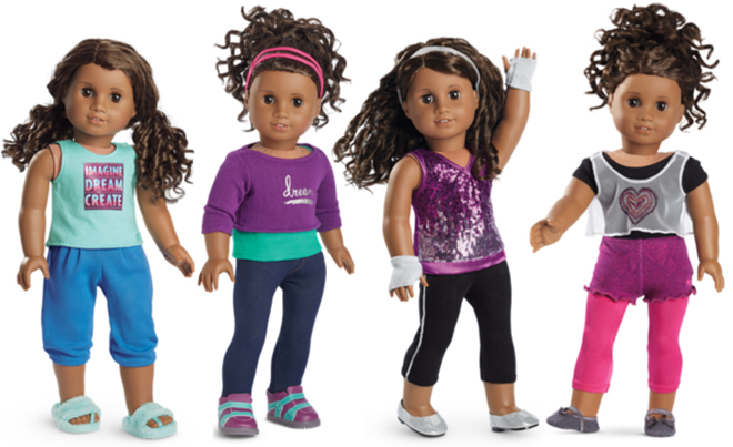 American Girl Of Year 2017 Gabriela McBride Showtime Kit Doll Hair Pick Only