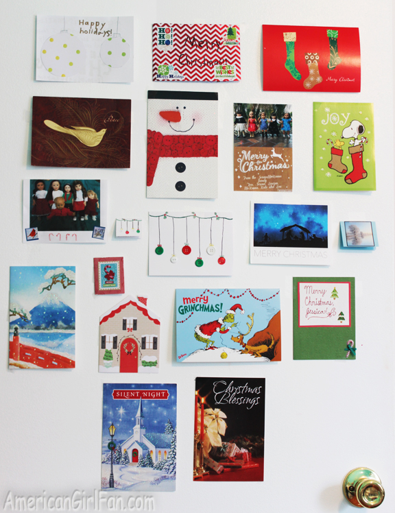 American Girl Doll Christmas Cards