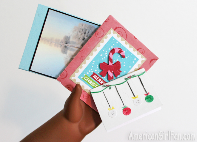 American Girl Doll Christmas Cards