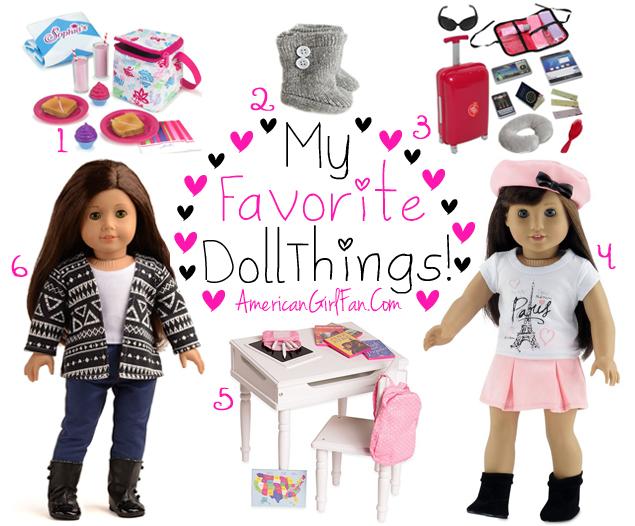 My Favorite American Girl Doll Things Week 75