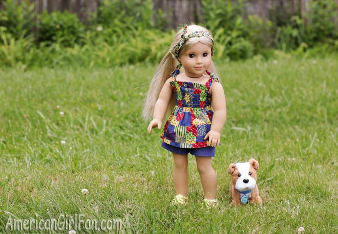 American Girl Doll Julie