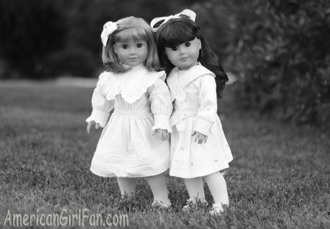 Samantha and Nellie American Girl Dolls