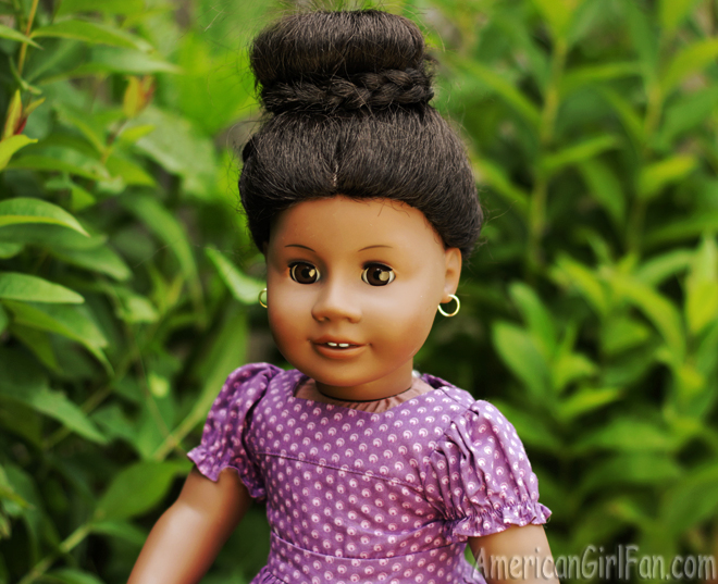 American Girl Doll Hairstyle Wraparound Braided Bun