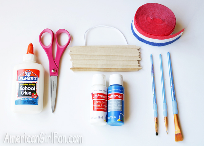 American Girl Doll 4th of July Craft