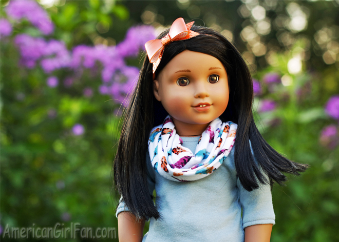 American Girl Doll Infinity Scarf