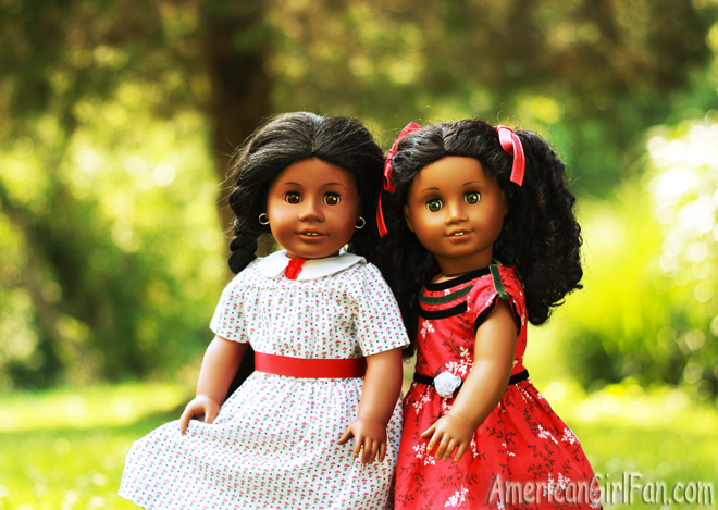 American Girl Doll Addy and Cecile