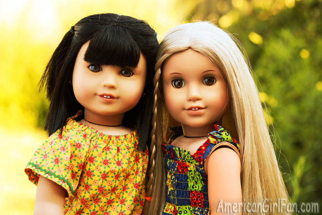 American Girl Doll Julie and Ivy