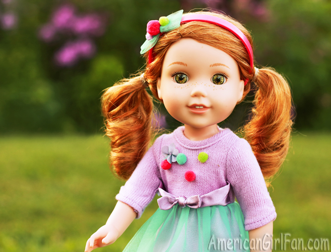 American Girl Wellie Wishers Doll