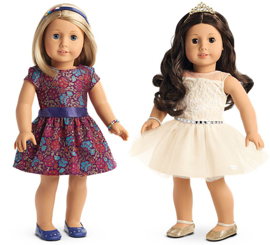 American Girl Doll Holiday Dresses 2017