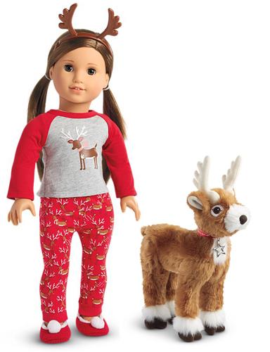 American Girl Doll Truly Me Reindeer