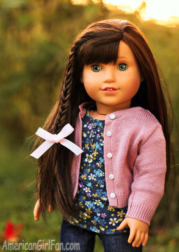 American Girl Doll Fishtail Braid Hairstyle