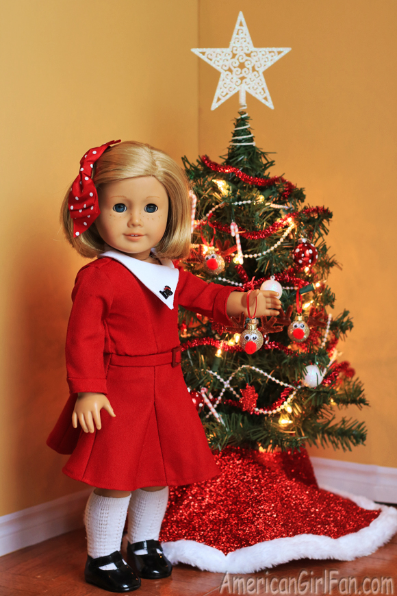 American Girl Doll Christmas Craft Reindeer Ornament