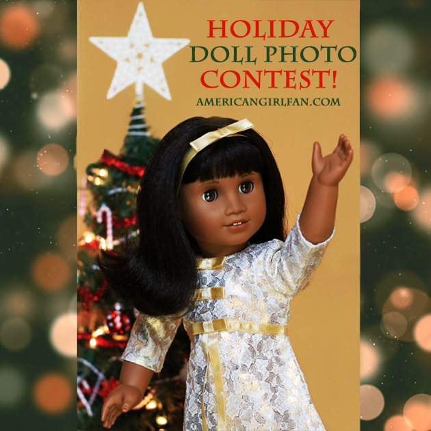 American Girl Doll Holiday Photo Contest