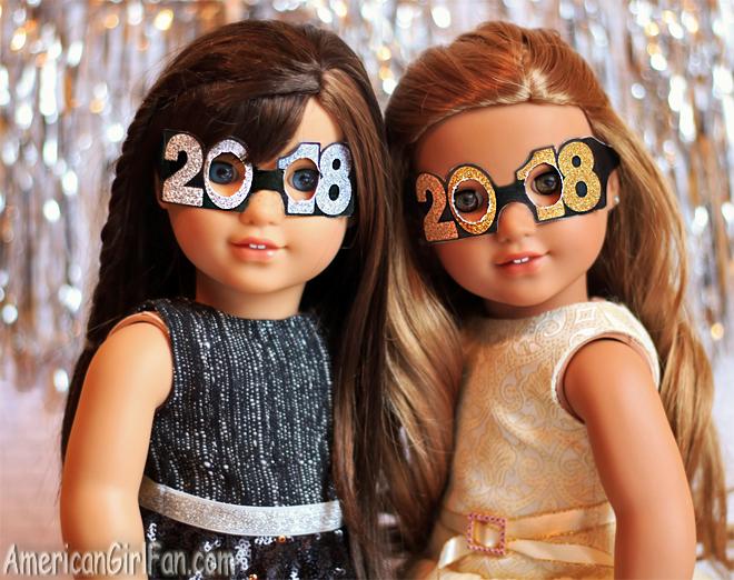 American Girl Doll Craft 2018 Glasses