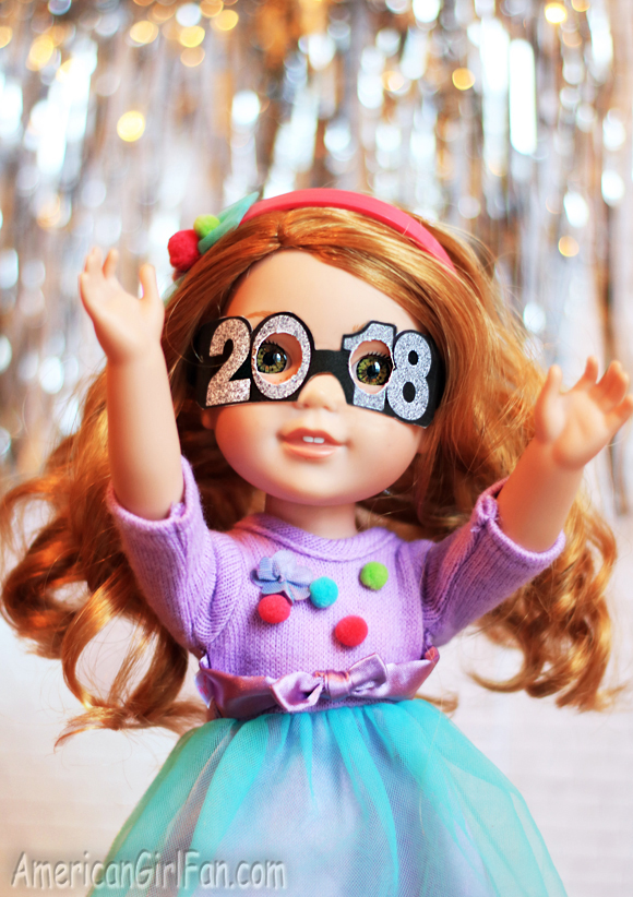 American Girl Doll Craft 2018 Glasses
