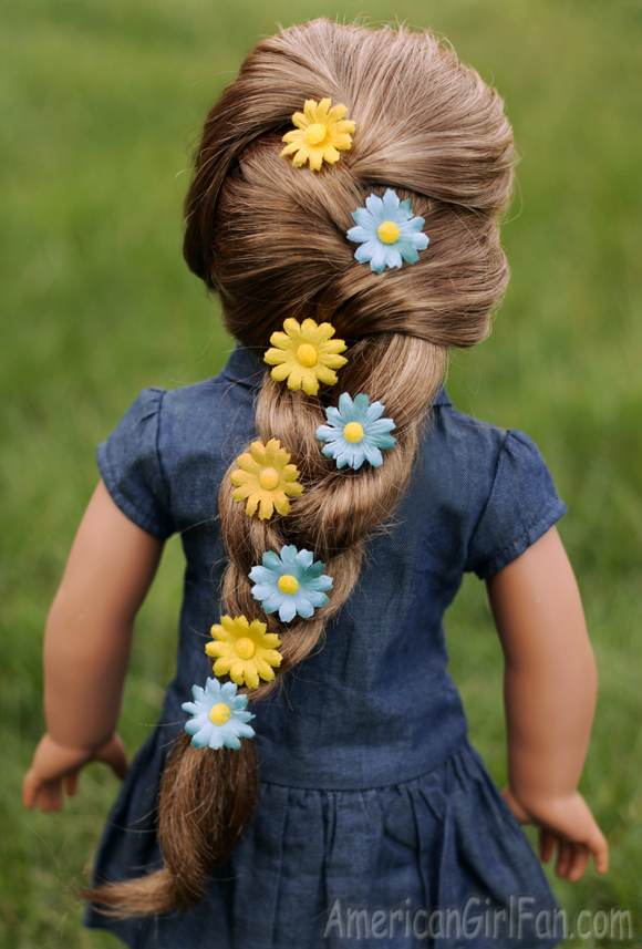 Easy American Girl Doll Hairstyles For Spring