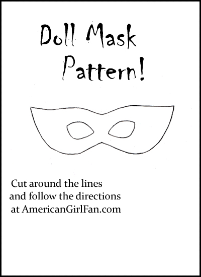 Doll Mask Pattern pic