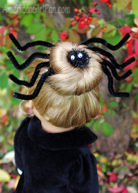 Spider Doll Hairstyle