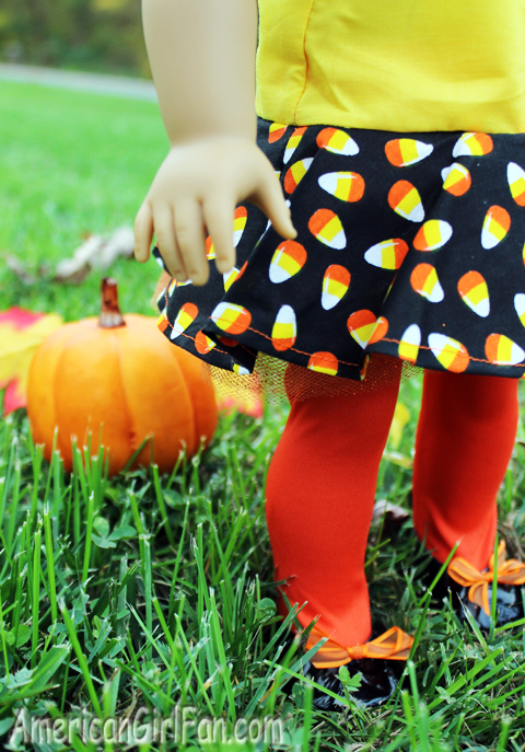 Jessies Girl Clothing Candy Corn Doll Dress Giveaway