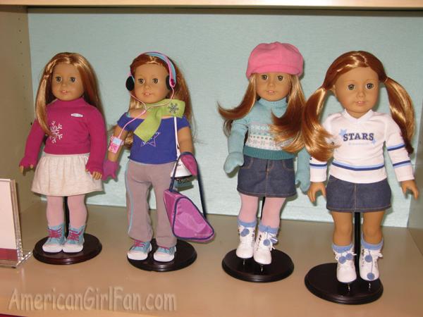 Nellie Felicity,Elizabeth American Girl Mia Meet Catalog 2008 featured Molly