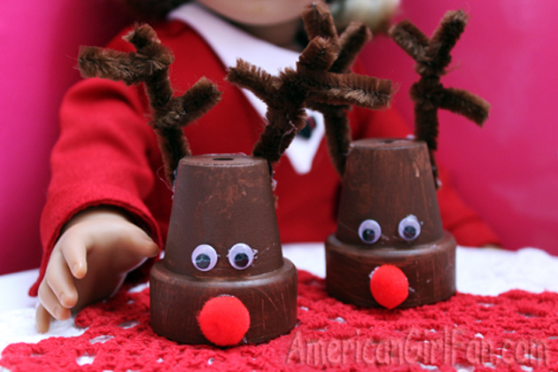 make doll reindeer - Christmas Decorations For American Girl Dolls