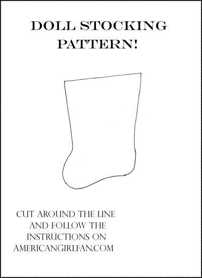 Doll Stocking Pattern Printable