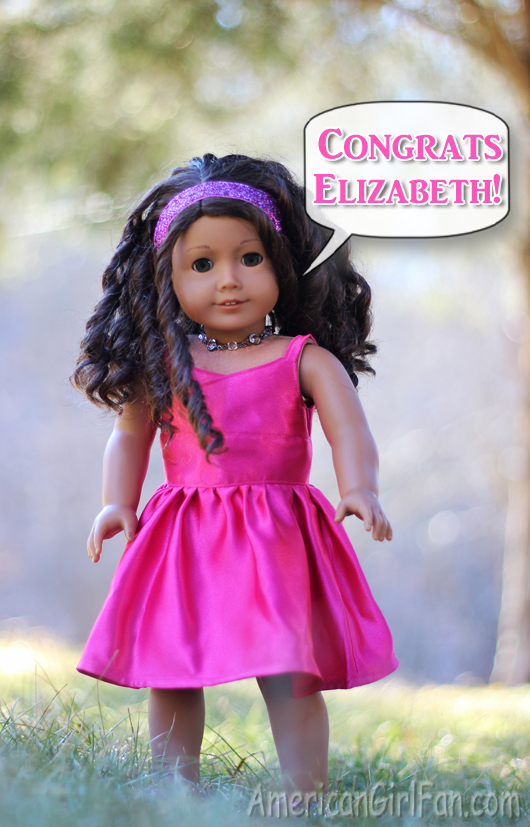 Congrats Elizabeth