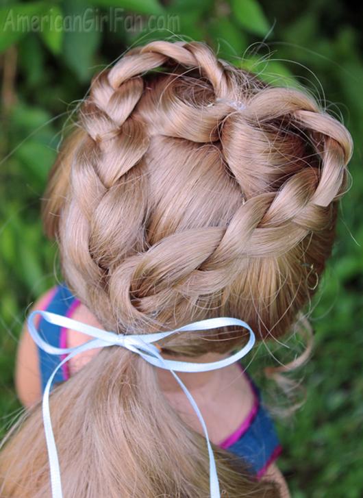 Sweetheart braid
