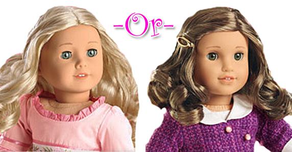 Caroline or Rebecca