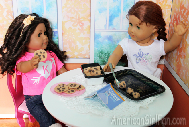 Kenley and Felicity Caption That Doll Picture