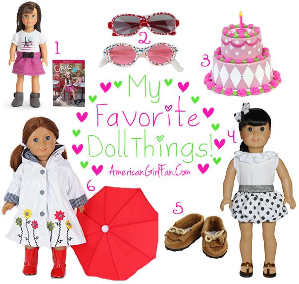 American Girl Fan Favorite Doll Things Week 7