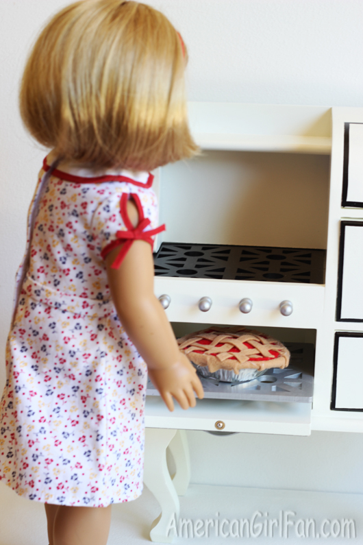 Getting Pie Out of Stove