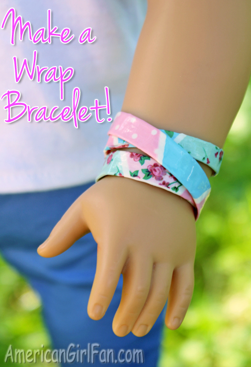 How To Make A Duck Tape Wrap Doll Bracelet