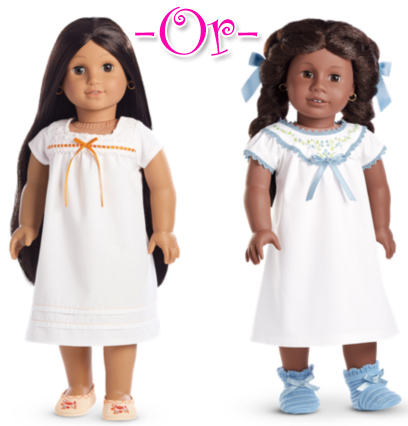 Doll Nightgowns