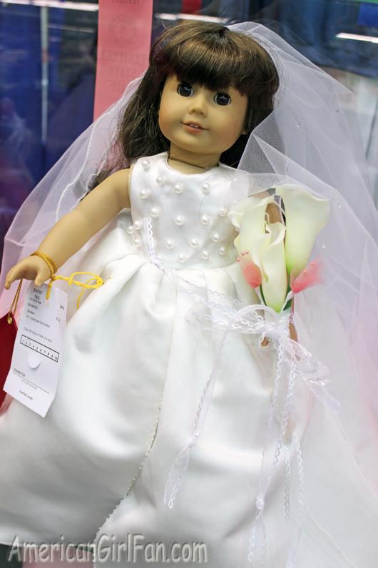 American Girl Doll Wedding Dress