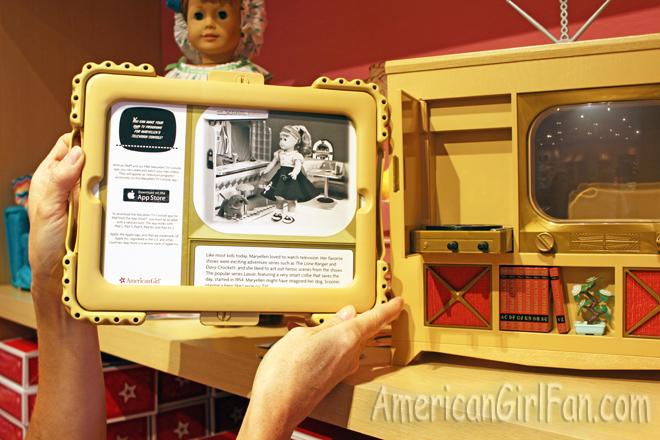 American Girl Maryellen TV IPad App