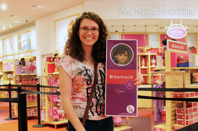 Getting Grace American Girl Doll