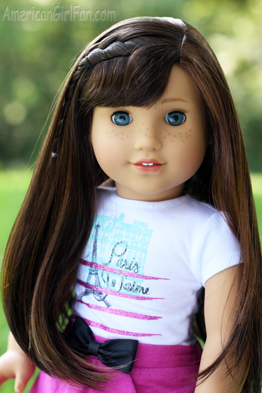 grace thomas girl of the year 2015 doll review americangirlfan